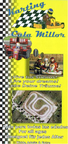 MALLORCA GO KARTING CALA MILLOR MALLORCA GO KARTING CHEAP FUN DAYS MALLORCA EXCURSIONS MALLORCA DAY TRIPS MALLORCA KIDS ADULTS GO KARTING